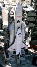 Raketopl�n Buran na raket� Energija na startovac� ramp�