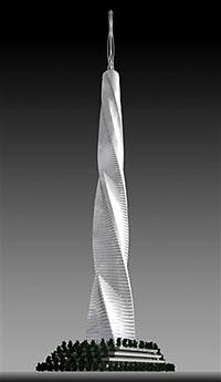 Model mrakodrapu Fordham Spire
