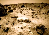 Krajina na Marsu