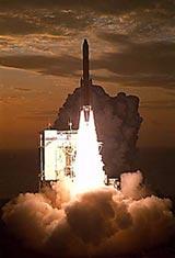 Start rakety H-1