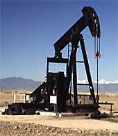 Ropná pumpa v poušti